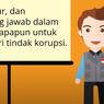 Bagaimana Caramu Menanamkan Sifat Anti korupsi Dikehidupan sehari-hari? Jawaban Soal TVRI 12 Agustus SMP