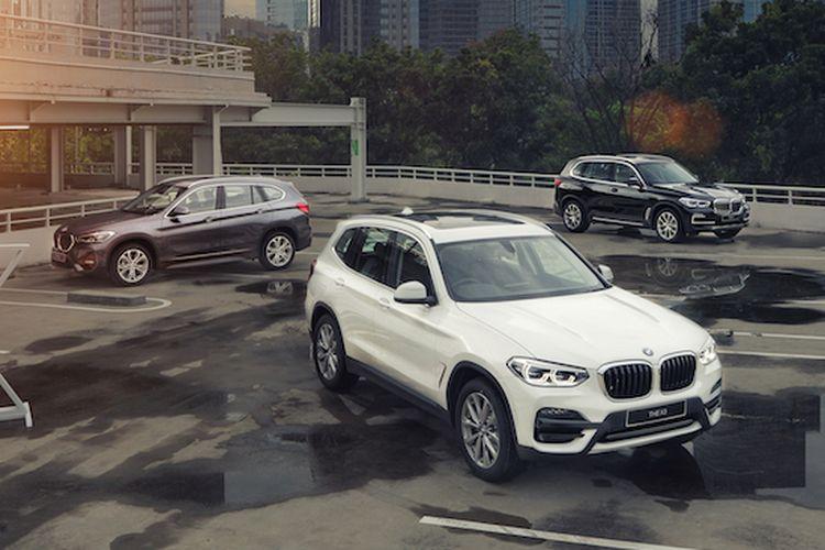 BMW X1, X3, X5