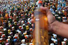 Petugas Perbatasan Nunukan Gagalkan Penyelundupan Ratusan Botol Miras dari Malaysia