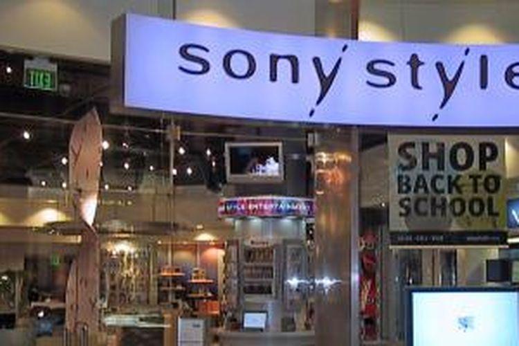 Toko retail Sony Style