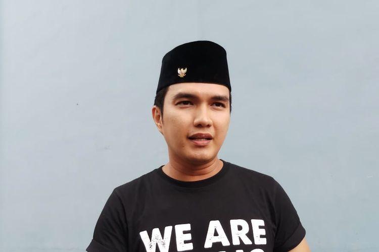 Artis peran Aldi Taher saat ditemui di kawasan Tendean, Jakarta Selatan, Rabu (8/1/2020).