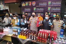 Polsek Cipondoh Amankan 151 Botol Miras Ilegal dari Luar Negeri