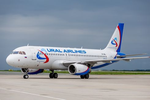Tabrak Kawanan Burung, Maskapai Rusia Ural Airlines Mendarat Darurat di Ladang Jagung