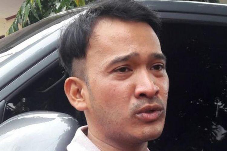 Ruben Onsu dalam wawancara di sela sinetron i-KTP di kawasan Bidara Cina, Jakarta Timur, Selasa (14/3/2017).