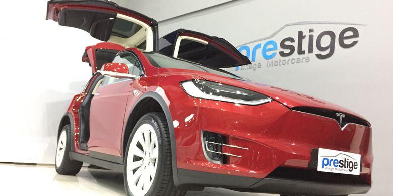 Tesla Model X yang dijual Rp 2,65 Miliar di Indonesia