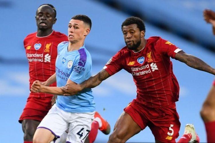 Man City Vs Liverpool Gol Sterling Warnai Kekalahan Telak The Reds Halaman All Kompas Com