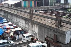 Penyelesaian Jembatan Penghubung di Tanah Abang Terkendala PKL