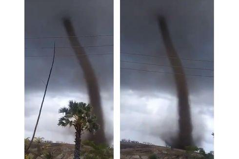 Viral Video Tornado di Rote Ndao NTT, Ini Penjelasannya