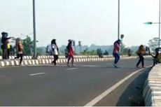 Viral Video Emak-emak Joget TikTok di Tol Sentono Pekalongan, Polisi: Ini Membahayakan Orang Lain