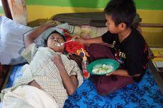 Kisah Gunadiono, Bocah Kelas 5 SD Dua Tahun Rawat Ibu yang Stroke