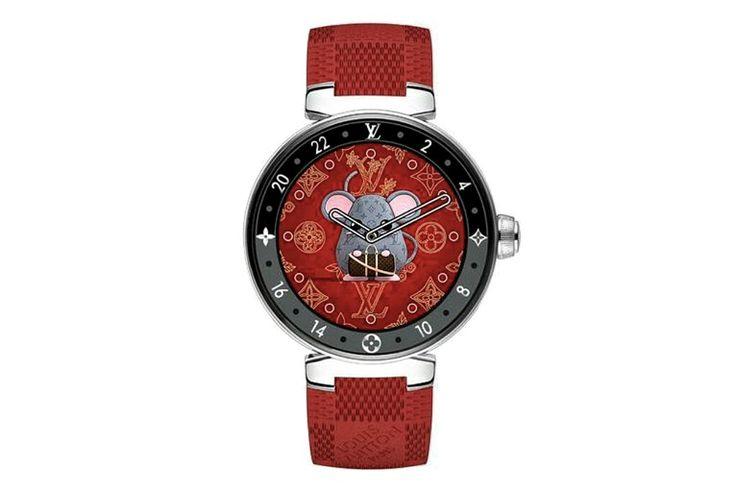 Louis Vuitton luncurkan arloji edisi tahun baru Cina.