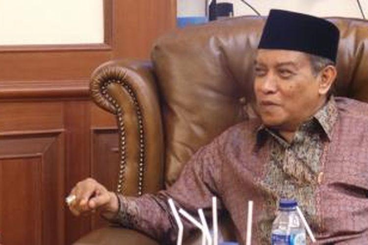 Ketua Umum Pengurus Besar Nahdlatul Ulama Said Aqil Siradj.