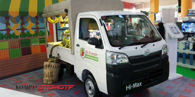 Pikap Daihatsu Hi-Max dibuat dengan konsep jualan buah