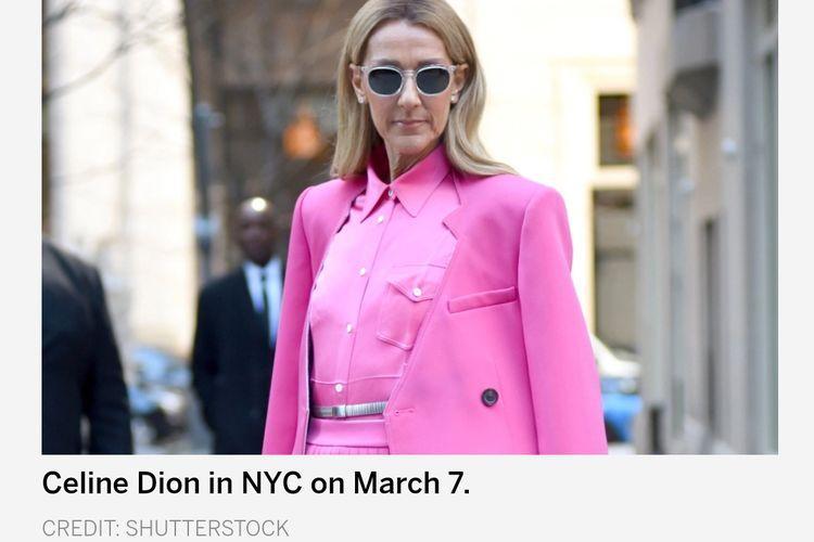 Penyanyi Celine Dion
