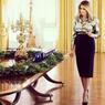 Hi-heels dan Dekorasi Natal di Gedung Putih Ala Melania Trump