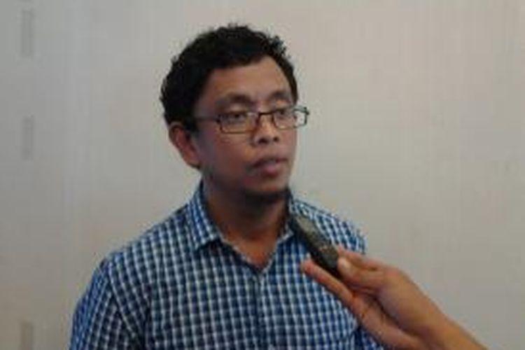 Koordinator Divisi Korupsi Politik ICW, Abdullah Dahlan.