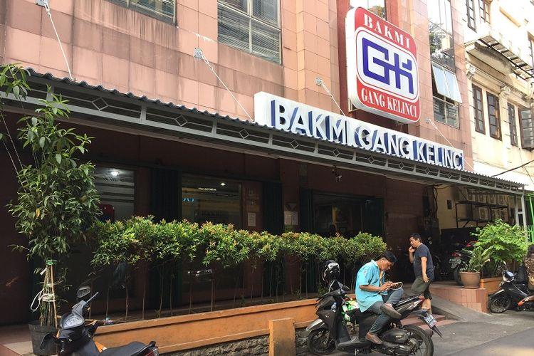 Bakmi Gang Kelinci - tempat makan legendaris Jakarta