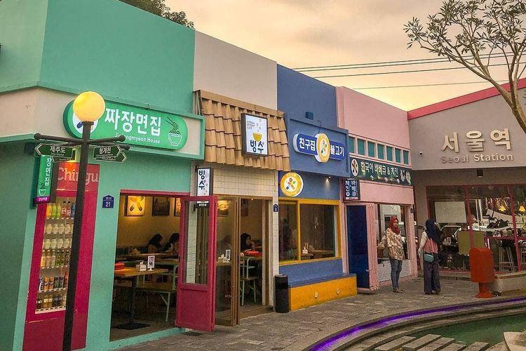 Little Seoul Bandung, Chingu Cafe, Bandung
