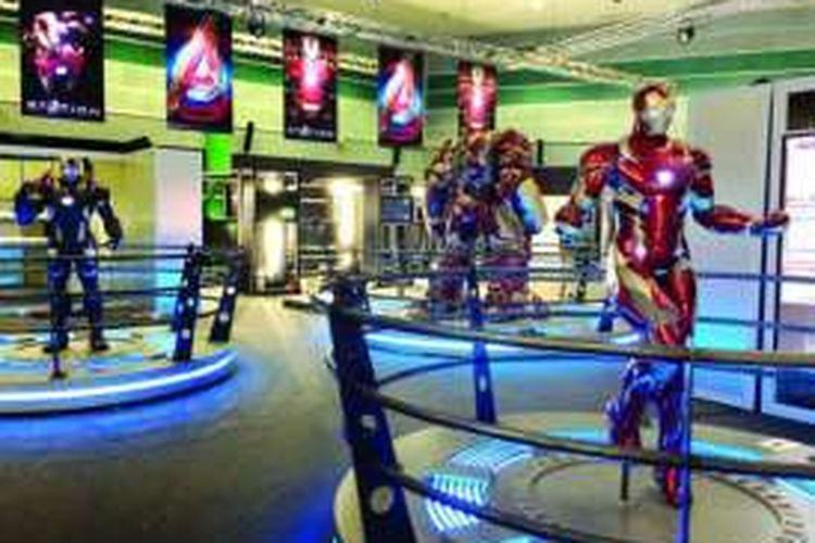 Para penggemar karya Marvel terutama Avengers bisa memasuki