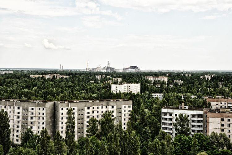Chernobyl - Kota Pripyat yang termasuk dalam Chernobyl Exclusion Zone, Ukraina.