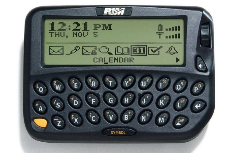 Penampakan Blackberry 850