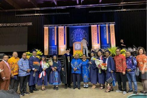 Tujuh Putra Papua Lulus dari Universitas Ternama di Amerika Serikat