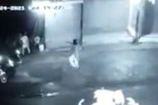 Baku Tembak Polisi dengan Perampok, Senjata Penjahat Macet, Pelaku Kabur dan Sempat Singgah di Warung Warga