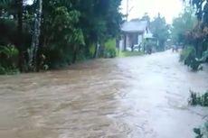Hujan Deras, Banjir Hantam 5 Kecamatan di Padang, 500 Rumah Terendam