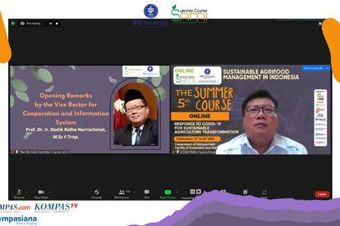 Mahasiswa Berbagai Negara Bertukar Ide di IPB SAMI Summer Course 2021