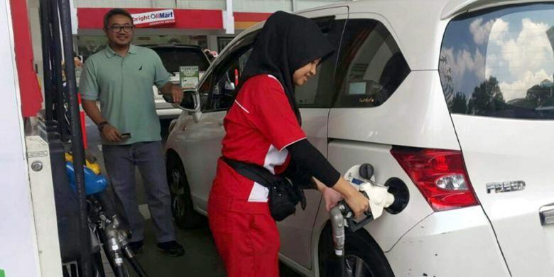 Pertalite semakin diminati dan tersedia di seluruh kota serta kabupaten di Jawa Barat dan Banten. Harga pun turun per 1 September 2015.