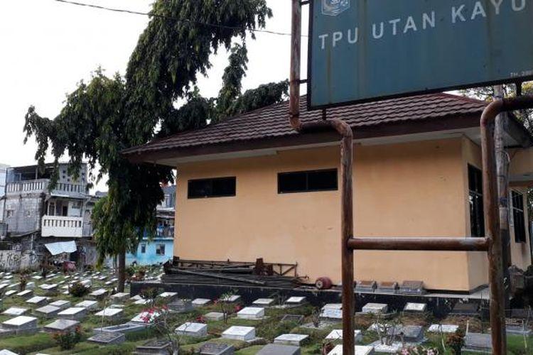 TPU Utan Kayu di Rawamangun, Pulogadung, Jakarta Timur. Kamis (26/1/2017)