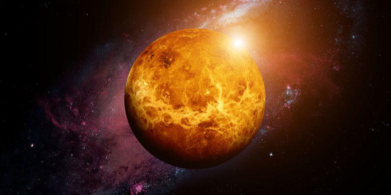 Alasan Venus Bersinar Terang di Langit Malam Beberapa Hari Terakhir Halaman  all - Kompas.com