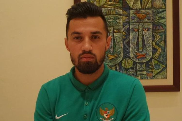 Gelandang tim nasional Indonesia, Stefano Lilipaly.