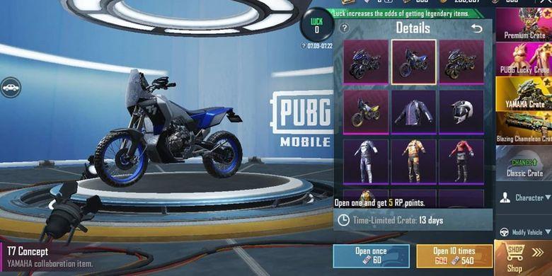 Yamaha Motor bekerja sama dengan PUBG Mobile
