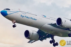 Garuda Indonesia Complies With Temporary Ban on Foreigners