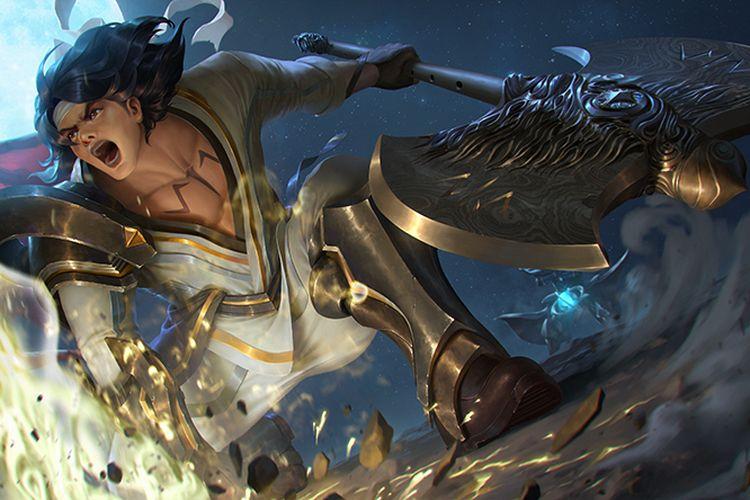 Karakter Wiro Sableng pada game AOV.