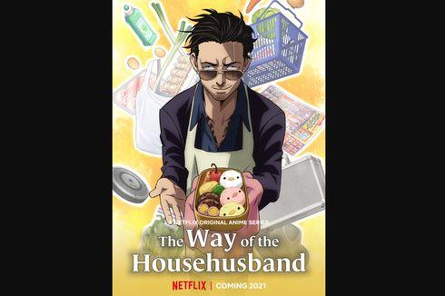Mirip Kebiasaan Pandemi, Ini 5 Momen Tatsu dalam The Way of The Househusband