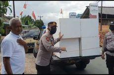 Polsek Rajapolah Tasikmalaya Swadaya Buat Peti Mati, Antisipasi Lonjakan Kematian akibat Covid-19