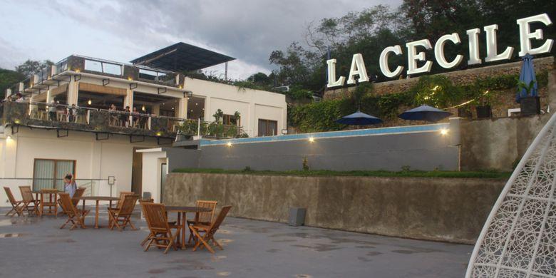 Hotel LA Cecile yang ada di Labuan Bajo, Kabupaten Manggarai Barat, Nusa Tenggara Timur (NTT), Sabtu (16/2/2019).