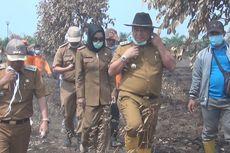 Bupati Ogan Ilir Akhirnya Datangi Kebun Raya Sriwijaya yang 1 Minggu Terbakar