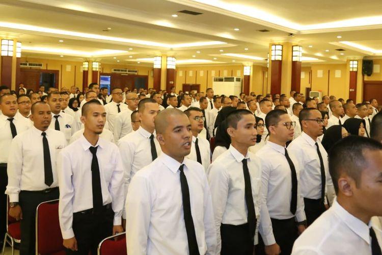 Sebanyak 277 CPNS Kemnaker mendapat pengarahan langsung dari Menteri Tenaga Kerja.
