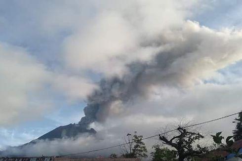 3 Kecamatan Terdampak Erupsi Gunung Sinabung