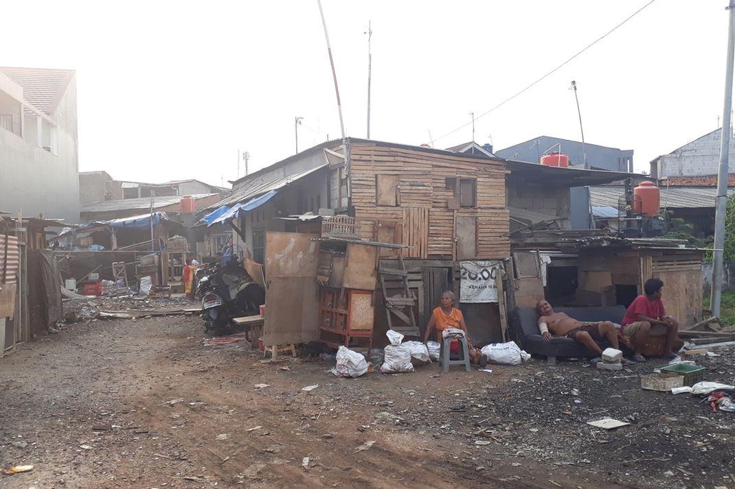 (Berita Foto) Potret RW 05 Kelurahan Jatinegara yang Masuk Kategori Kumuh