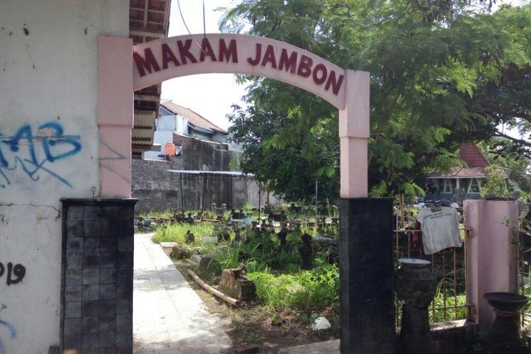 Lokasi pemakaman almarhum Albertus Slamet Sugiardi di Jambon Purbayan RT 53/RW 13 Kota Gede Yogyakarta