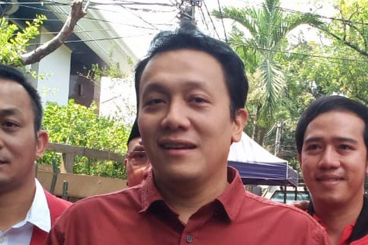 Ketua Umum PKPI Diaz Hendropriyono di Menteng, Jakarta Pusat, Rabu (7/8/2019).