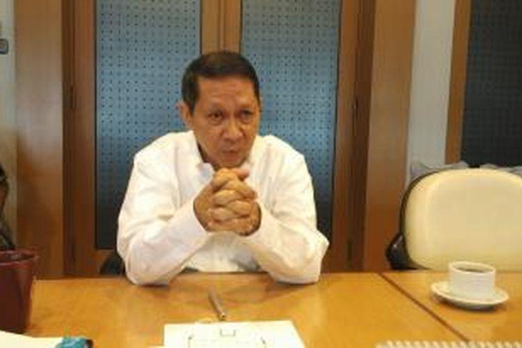 Dirut PT Pelindo II Rj Lino saat ditemui Kompas.com, di Kantornya, di Pelabuhan Tanjung Priok, Jakarta, Selasa (13/10/2015).