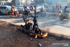 Motor Mogok Lalu Terbakar di DI Panjaitan