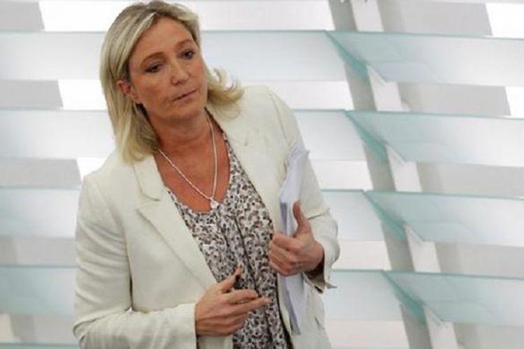 Calon Presiden Perancis Marine Le Pen
