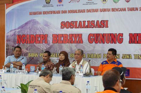 Hadapi Merapi, BPBD Jateng Akan Bikin Forum Edukasi Kebencanaan