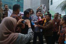 Demo Protes IMB Reklamasi di Dalam Balai Kota DKI, Mahasiswa Diusir Pamdal